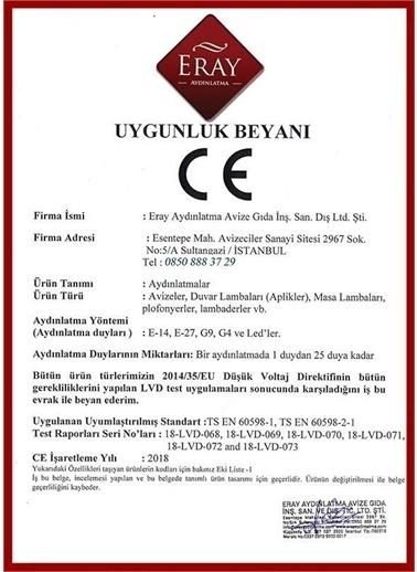 Eray Aydınlatma 1120-15-05 Modern Avize Renkli